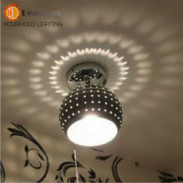Modernas Lâmpadas de Teto Sala de estar Lâmpadas Do Corredor Luzes Para Decoração Agradável do Metal Criativo Lâmpada Para Decoração
