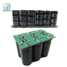 16V 20F Farad Capacitor Ultracapacitor Engine Battery Starter Booster Car Super Capacitor Single Row Double Row