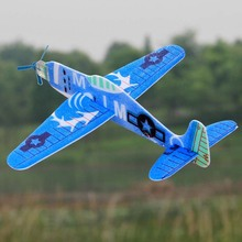 19cm Hand Throw Flying Glider Planes EPP Foam Airplane Party Bag Fillers Mini Drone Aircraft Model Toys For Kids