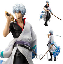 Anime Action Heroes Gintama Gintoki Sakata PVC Figure in Box 22cm
