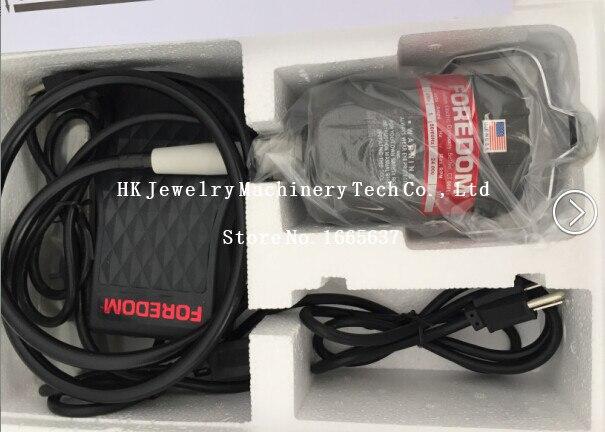 Livraison gratuite nouveau à 220 v Foredom Flex arbre moteur, Dremel polissage moteur bijoux outils, équipement