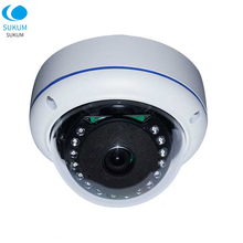 1080P POE IP Camera 3.6mm Lens 15Pcs IR Leds Indoor 2MP Camera Dome XMEYE APP Infrared Network Security Camera