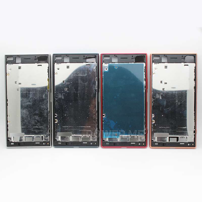 Image 3 - Dower Me Middle Frame Bracket Panel Metal Chassis Bezel Plate With Dust Plug Cover Button For Sony Xperia XZ Premium G8142 G8141-in Mobile Phone Housings & Frames from Cellphones & Telecommunications