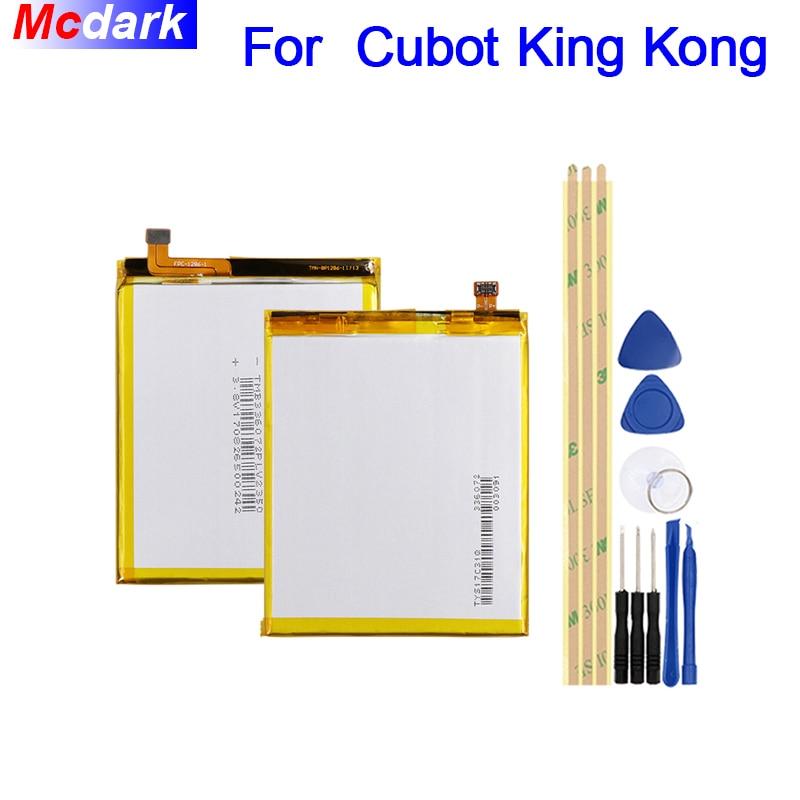 Mcdark 4400 mah Batteria Per Cubot KingKong Batterie Bateria Accumulator AKKU ACCU PIL Del Telefono Mobile + Strumenti