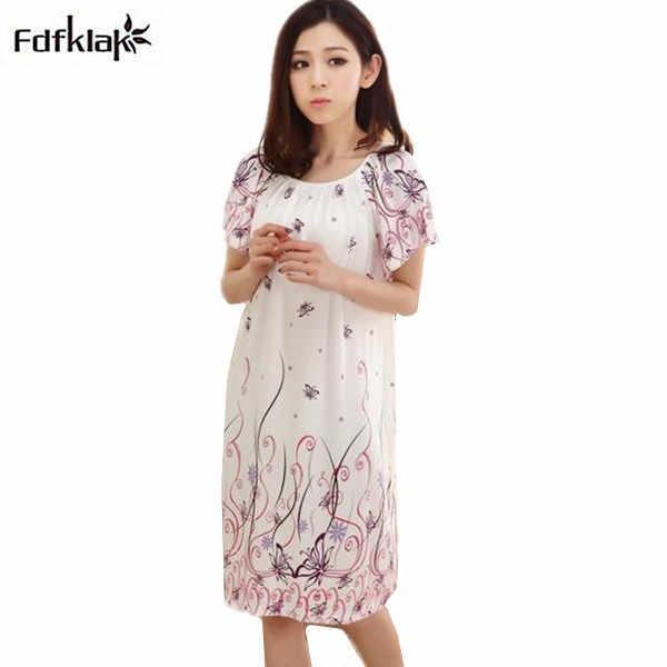 e252950948d316c 2018 Бесплатная доставка; женские сезон: весна–лето хлопок Большие размеры  ночная рубашка для