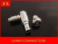 Lemo 90 Degree Elbow 0B 2pin Connector For Video Application FHG 0B 302 CLAD ECG 0B