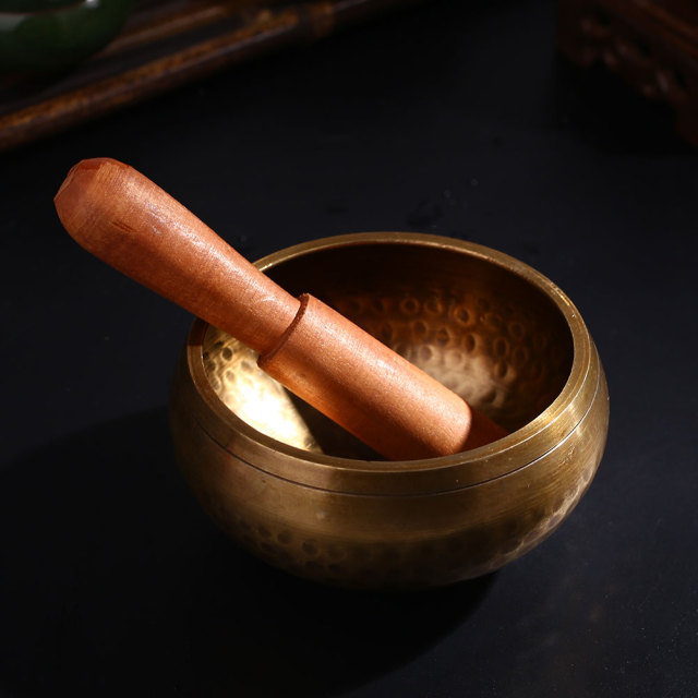 Handmade Copper Meditation Bowl (8 cm) 1