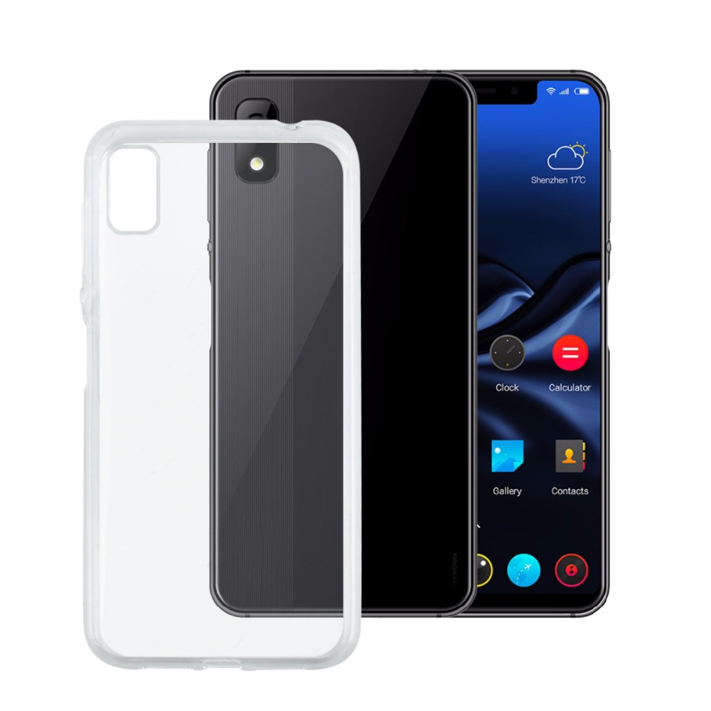 MXHYQ luxury Full Protect Anti-knock TPU Silicone Transparent Back Cover Case For Elephone A4 for phone cases cover