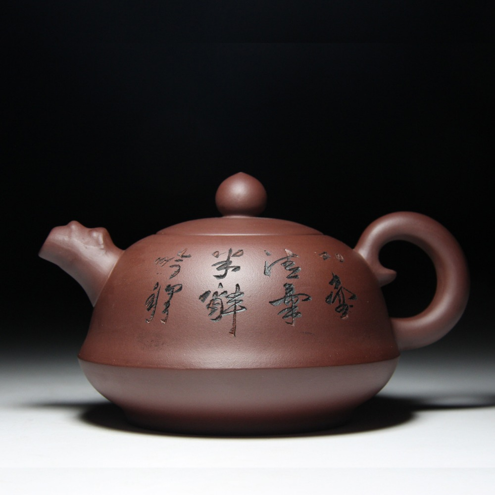 Large capacity Ruding tea pot 380cc Yixing genuine purple clay teapots Purple mud special price