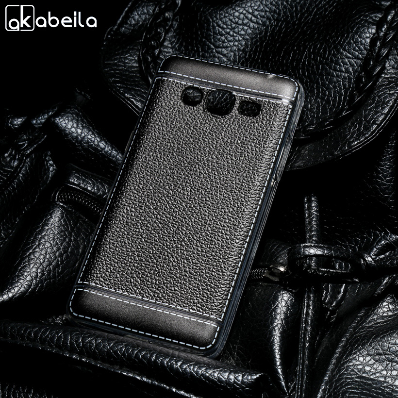 AKABEILA Fitted Cases For Samsung Galaxy J2 Prime Case SM-G532F J1 Mini Prime Cover J3 2017 Soft TPU Grand Prime 2016 Bag