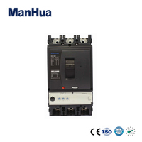 Manhua High Quality Product 3 Pole NSX 400N Moulded Case Circuit Breaker220V Surge Protector Relay Protection Voltage Disjunctor