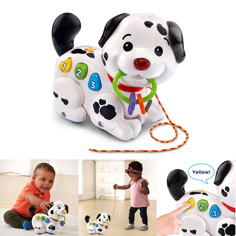 Electronic Toys Walking Pull Sing Puppy Dog Pets For Kids Child Baby Gift @ZJF