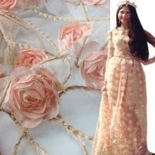 Chiffon  Embroidery Fabric
