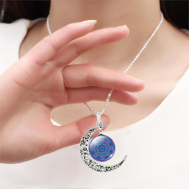 Necklace with Symbol of Buddhism