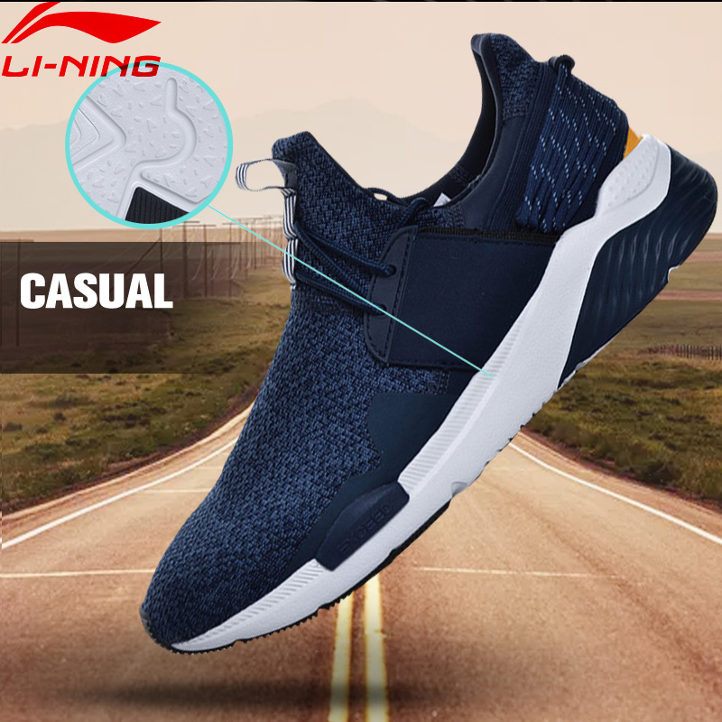 Li-Ning Men Sport Walking Shoes Fitness Li-Ning Cloud Sneakers TPU Support Stability LiNing Sneakers Sports Shoes GLKM107 YXB112 li ning original men sonic v turner player edition basketball shoes li ning cloud cushion sneakers tpu sports shoes abam099