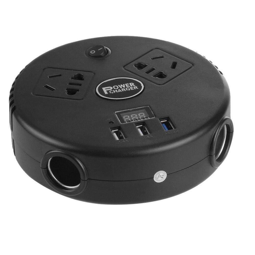 VODOOL onduleur 12 v 220 v 150 W onduleur DC à AC 12 V à 220 V voiture convertisseur de tension Automobiles inverseur avec chargeur USB