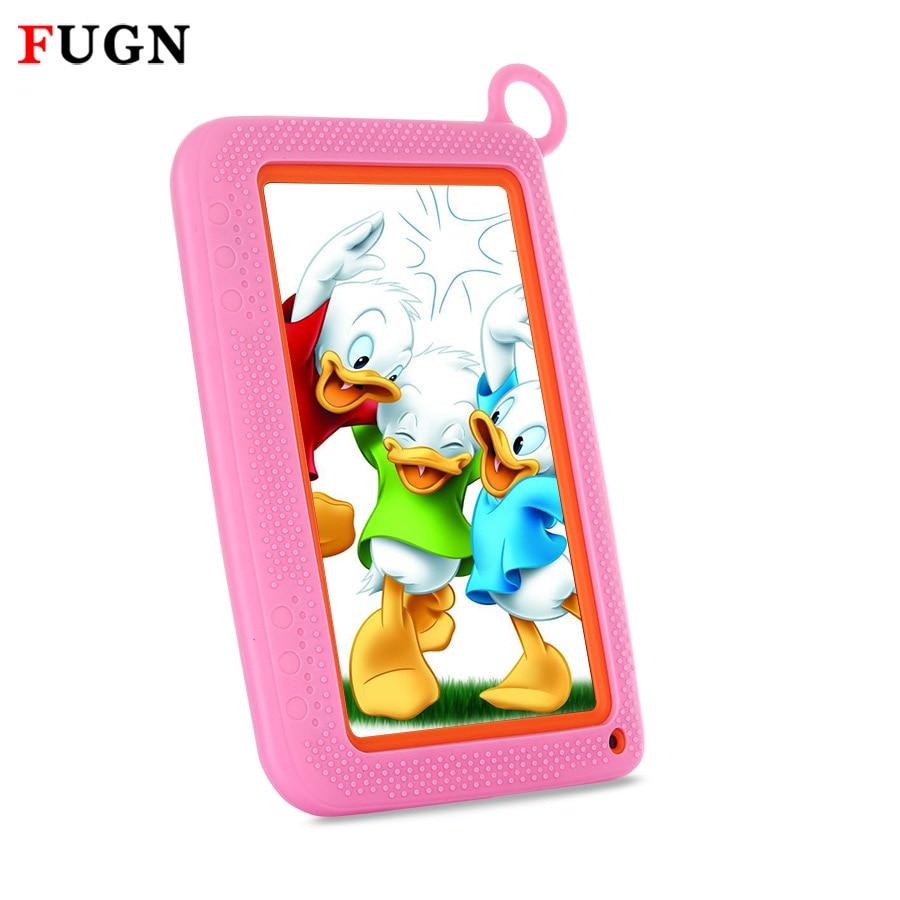 Fugn 7 дюймов дети Планшеты Android WiFi Планшеты ПК для детей Детский рисунок Обучение 4 ядра двойной камеры 512 М Оперативная память 16 ГБ 8 DHL