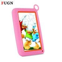 Fugn 7 дюймов дети Планшеты Android WiFi Планшеты ПК для детей Детский рисунок Обучение 4 ядра двойной камеры 512 М Оперативная память 16 ГБ 8' DHL