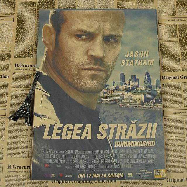 Jason Statham Film Poster Kraft Kurbel Tod Transporter Transporter