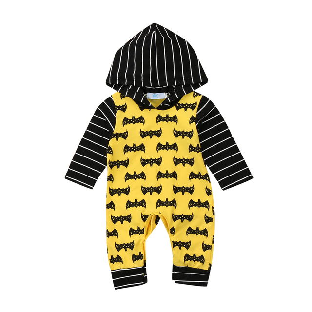 b74a3cc70118 New Fashion Warm Clothes Newborn Baby Boys Clothes Long Sleeve Striped  Hoodies Jumpsuit Outfits Set-in Rompers from Mother   Kids on  Aliexpress.com