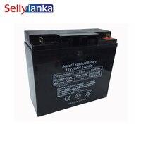 12 V 20AH Батарея герметичные аккумуляторные батареи свинцово кислотная перезаряжаемая для Противопожарный клапан охранника