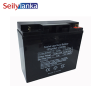 12V 20AH Battery Sealed Storage Batteries Lead Acid Rechargeable for Fire damper Security guard