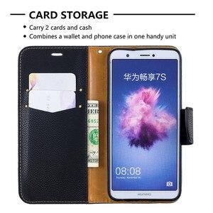 Image 5 - Умный чехол для Huawei P, чехлы для Huawei P Smart P, умный зеркальный чехол, однотонный кошелек, кожаный флип чехол для телефона, чехол