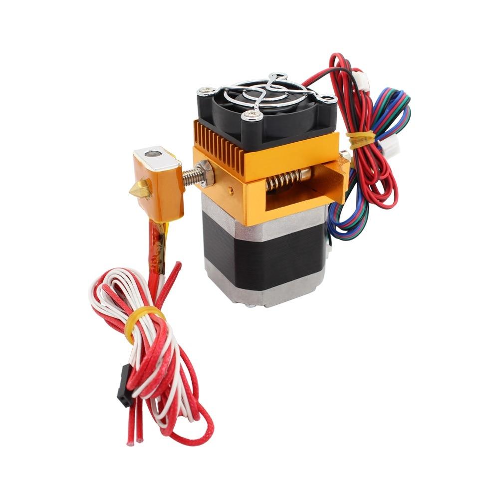 12v MK8 Single Head Extruder Sensor Hotend 0.4mm Nozzle Latest Print Head LEFT