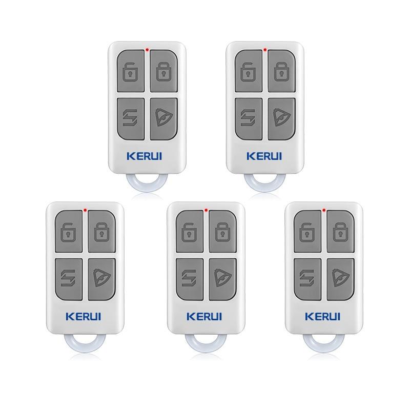KERUI Remote-Control G18 Wireless for GSM PSTN Home Security Voice-Burglar-Smart-Alarm-System