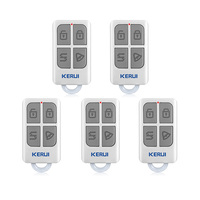 KERUI 3pcs 5pcs Wireless Remote Control For GSM PSTN Home Security Voice Burglar Smart Alarm System
