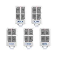 KERUI 3pcs 5pcs Wireless Remote Control For GSM PSTN Home Security Voice Burglar Smart Alarm System
