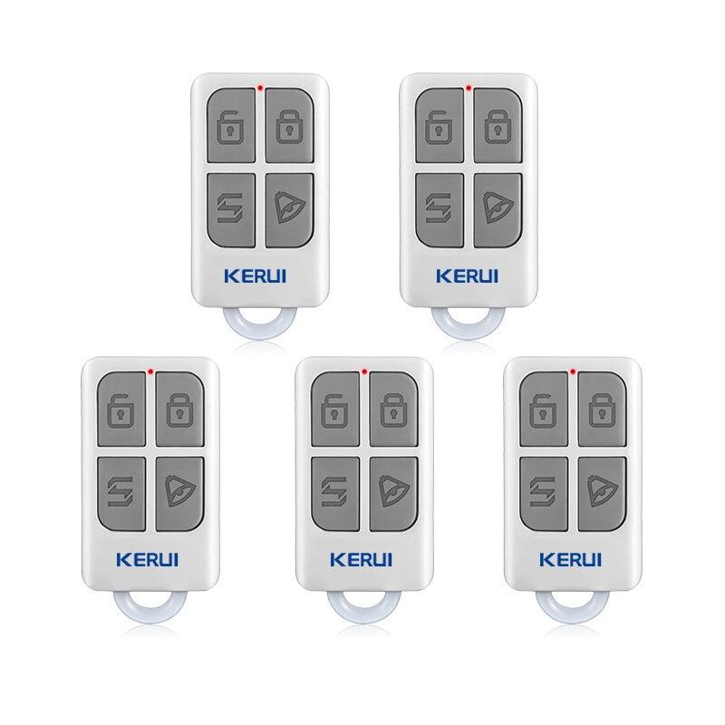 KERUI 3 pcs/5 pcs Télécommande Sans Fil Pour GSM PSTN Home Security voix Cambrioleur Intelligent Système D'alarme G18 G19 W1 W2 W18 K7