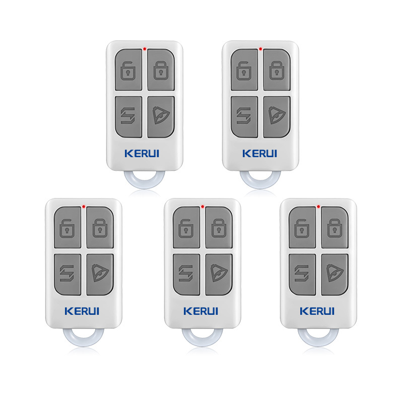 KERUI 3pcs/5pcs Wireless Remote Control For GSM PSTN Home Security Voice Burglar Smart Alarm System G18 G19 W1 W2 W18 K7 new kerui wireless portable remote control for gsm pstn home alarm system kr8218g home security voice burglar smart alarm system