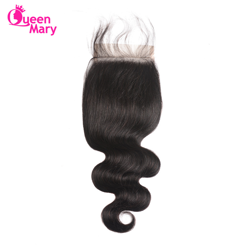 Queen Mary Raw Indian Hair Body Wave Bundles With Closure Human Hair 3 Bundles With Closure Indian Hair Bundles With Closure