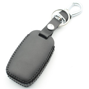 Image 3 - Чехол FLYBETTER из натуральной кожи для смарт ключей, 6 кнопок, для Kia Sedona/Grand/Carnival/Sorento, автостайлинг L498