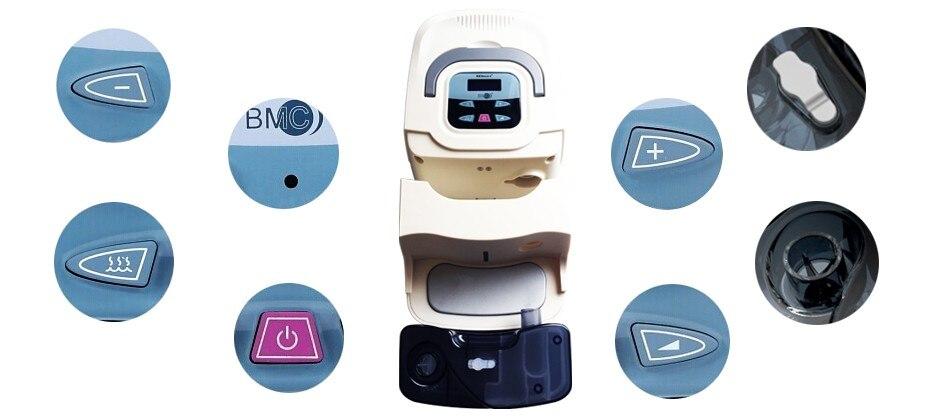 melhoria da casa respirador confortável com máscara de silicone para o sono ronco