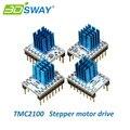 3 DSWAY 3D Частей Принтера 4 шт./лот МКС TMC2100 Драйвер Шагового Двигателя Stepstick Совместимый с 32 бит Контроллер Lerdge Материнская Плата