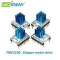 3 DSWAY Piezas de La Impresora 3D 4 unids/lote MKS TMC2100 Stepstick Stepper Motor Driver Compatible con 32 bits Controlador Lerdge Placa Base