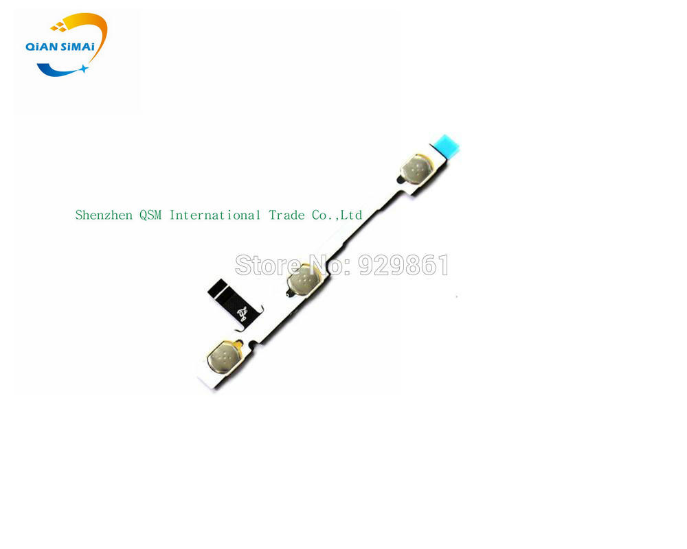 QiAN SiMAi New Original Power On/off & Volume Up/down Side Key Buttons Flex Cable For Lenovo S60 S60-W S60-T Mobile Phone