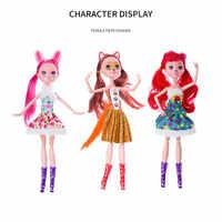 Neue Enchantimals Puppe Spielzeug Natürliche Freunde Sammlung Action Figure Puppen Kinder Weihnachten Geschenk Anime Figur Mädchen Spielzeug für Kinder