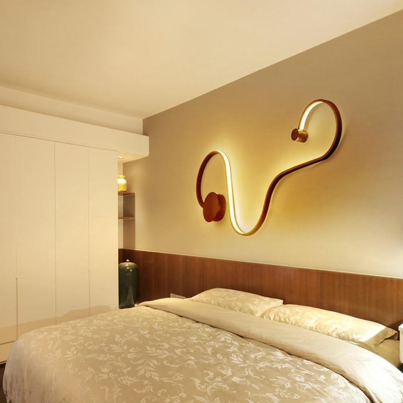 long Led string earthworm lamp for Art studio Hall long interior ...