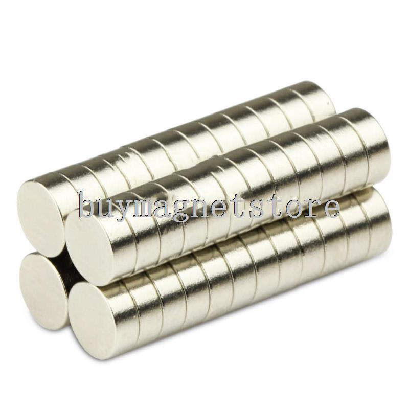 100Pcs 5x2 Neodymium Magnet 5mm x 2mm N35 NdFeB Permanent Small Round Super Powerful Strong Magnetic Magnets Disc 5*2
