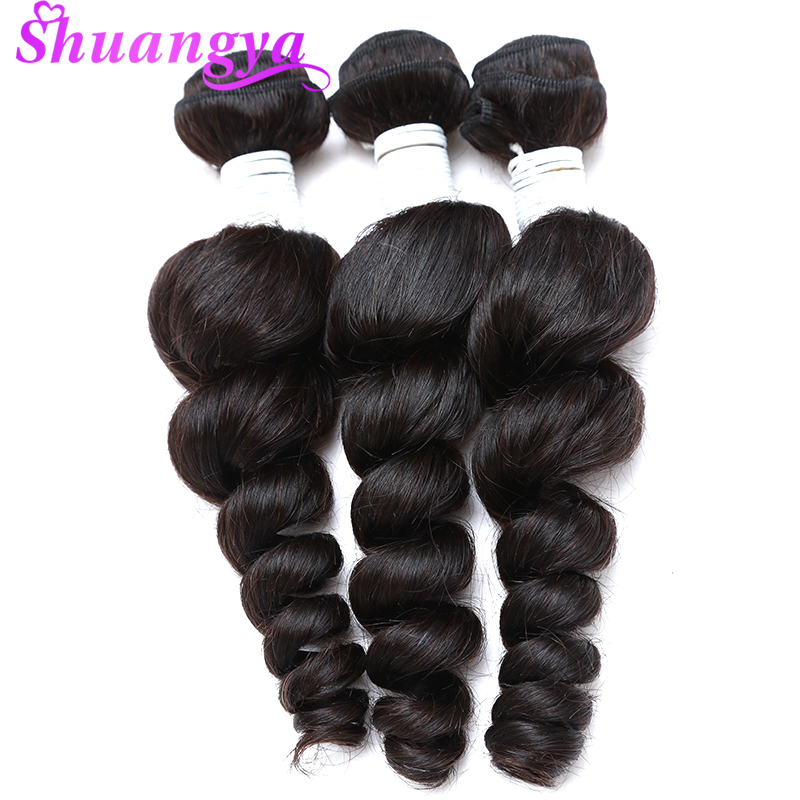 Hair Extensions & Wigs Aggressive Peruvian Remy Hair Weave Bundles 3 Bundles Natural Color Loose Wave 100% Human Hair Bundles 8-28 Virgin Hair Extensions