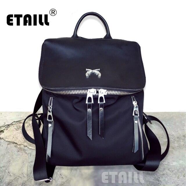 c91ef1f474 New Waterproof Nylon College Tide Stylish Men Casual Backpacks Famous Fashion  Designer Brand School Travel Laptop Bag Knapsack
