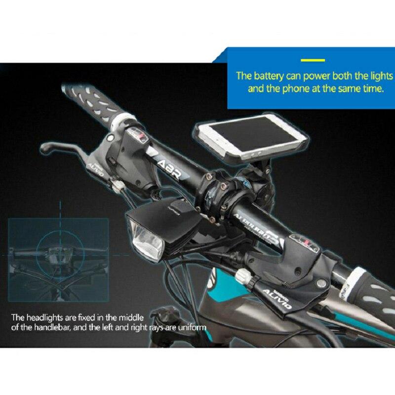 Easydo StVZO Certificering Professionele Fiets Licht USB Opladen MTB Racefiets Koplamp Waterdichte LED Voorlamp - 4