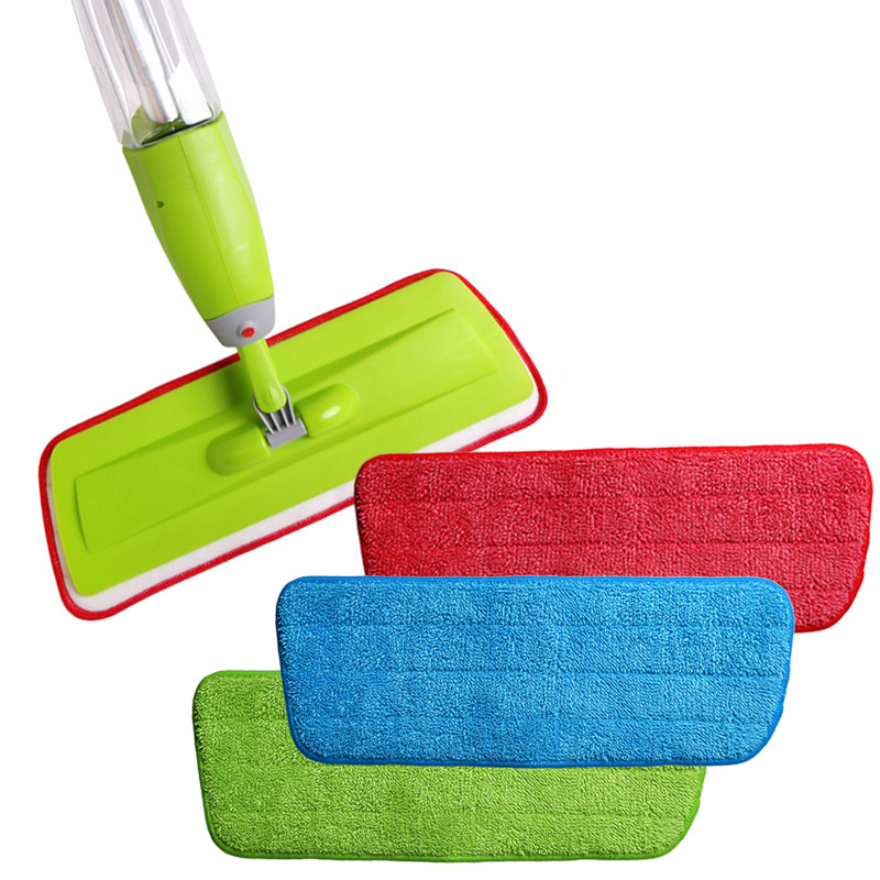 Split Spray Floor Mop: Free Deliver3PCS/set Fiber Spray Mop Head Floor Cleaning