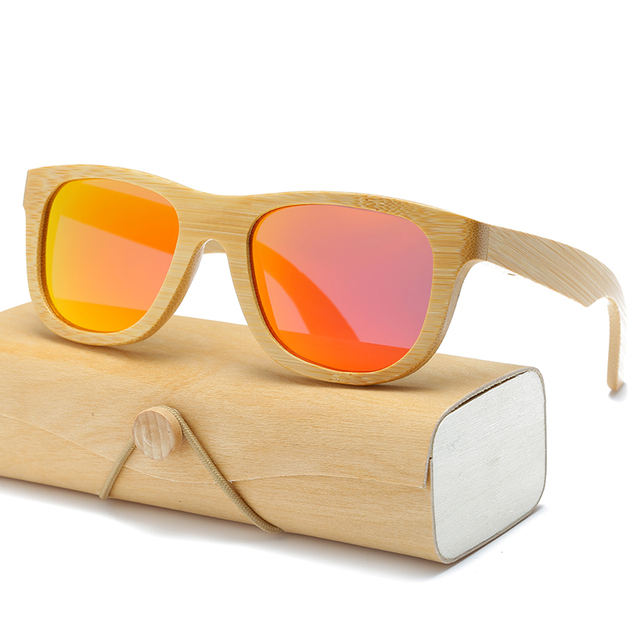 Wooden Sunglasses with Case