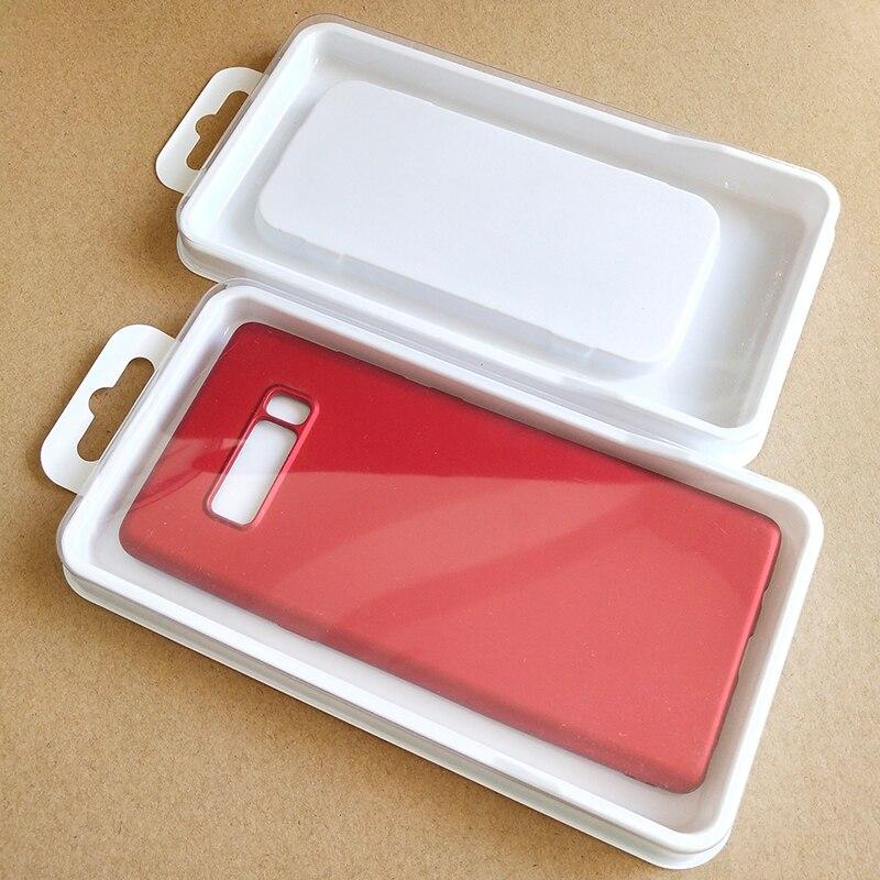 Étui de téléphone portable universel paquet PVC transparent en plastique emballage de détail boîte pour iphone7/8/Xs XR Samsung KJ-711 de téléphone portable