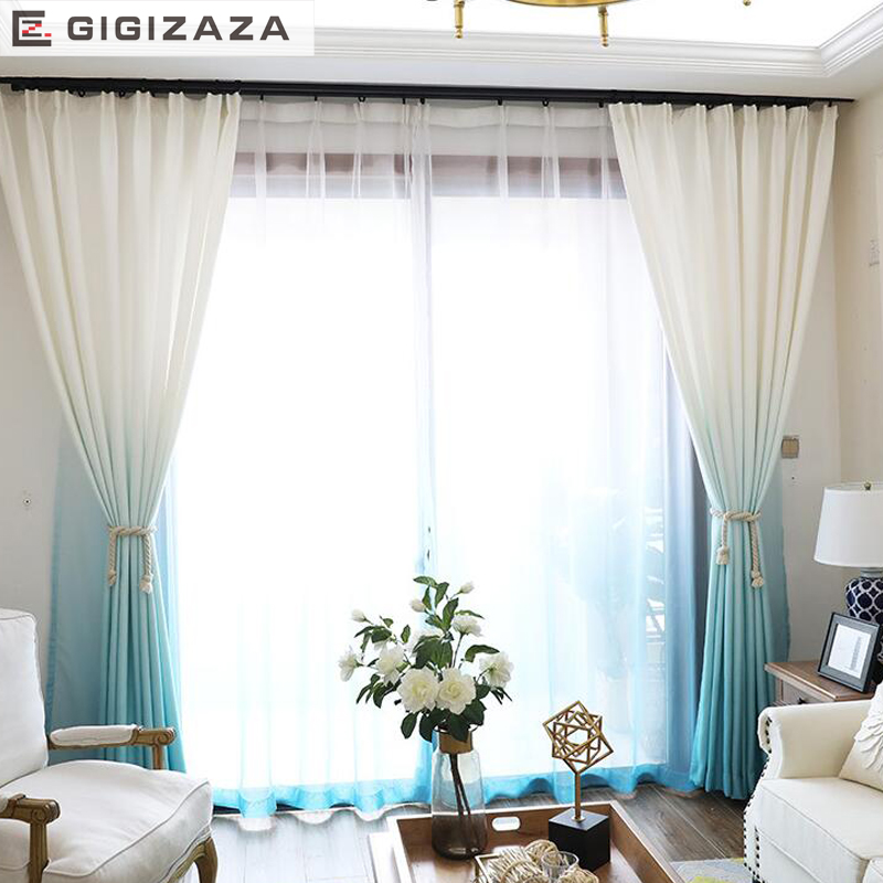 Grant Color Heavy Modern Curtains