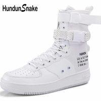 Hundunsnake High Top Mens Sneakers Women Sports Shoes Man Big Size Men Running Shoes Sports White Sporty Men's Shoes Sport A 083